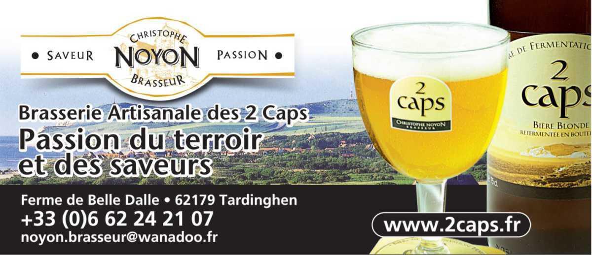 Christophe Noyon, maître-brasseur à la Brasserie des 2 Caps