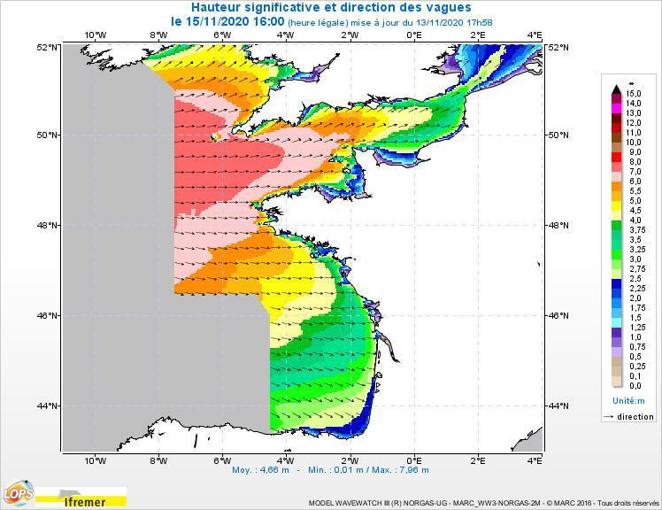 Tempête et submersion marine : les côtes de la Manche sous la menace ce dimanche