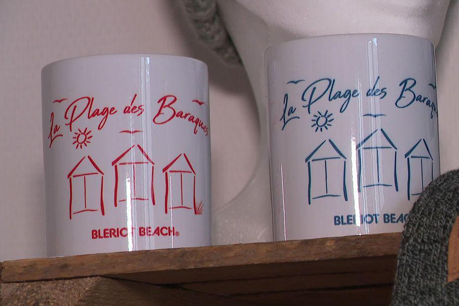 """Sangatte : """"la Plage des Baraques"""" une marque locale de vêtements en soutien aux chalets menacés de Blériot-Plage"""
