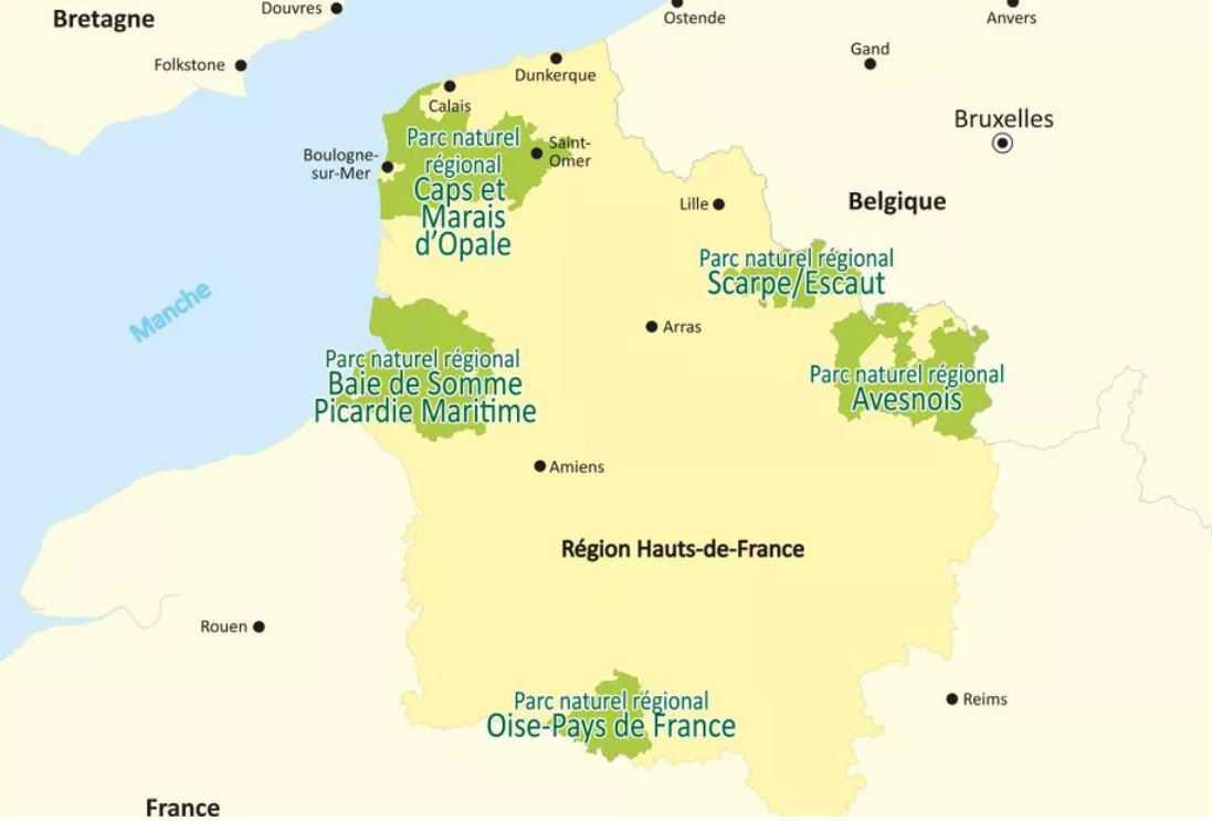 Le Parc naturel régional des Caps et Marais d'Opale candidat au label mondial Géoparc