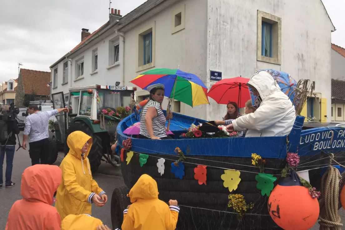Week-end de fête à Wissant autour du flobart, le bateau typique de la côte d'Opale