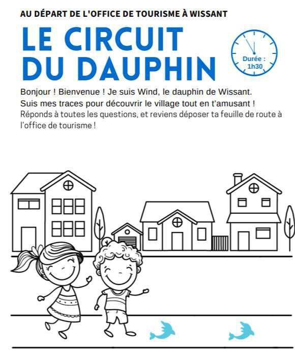 Le Circuit du Dauphin à Wissant