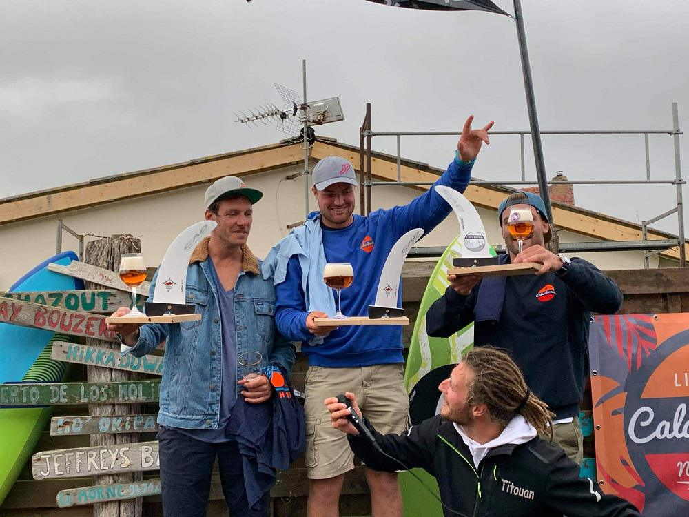 Pierre Macquaert vainqueur d'un joli downwind entre Wissant et Sangatte
