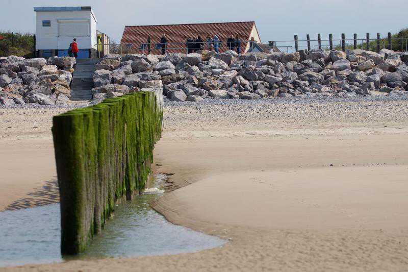 La plage de Sangatte, un paradis pour sportifs et promeneurs