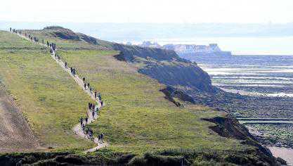 Du cap Blanc-Nez à Wimereux, itinéraire d'un trail Côte d'Opale qui en a gâté plus d'un