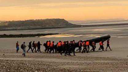 Au moins 150 migrants délogés des dunes entre Neufchâtel-Hardelot et Wissant