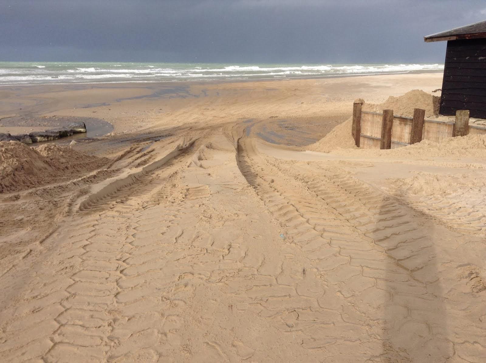 Digue Tempette Dec 2013 chalet entree plage 18 après