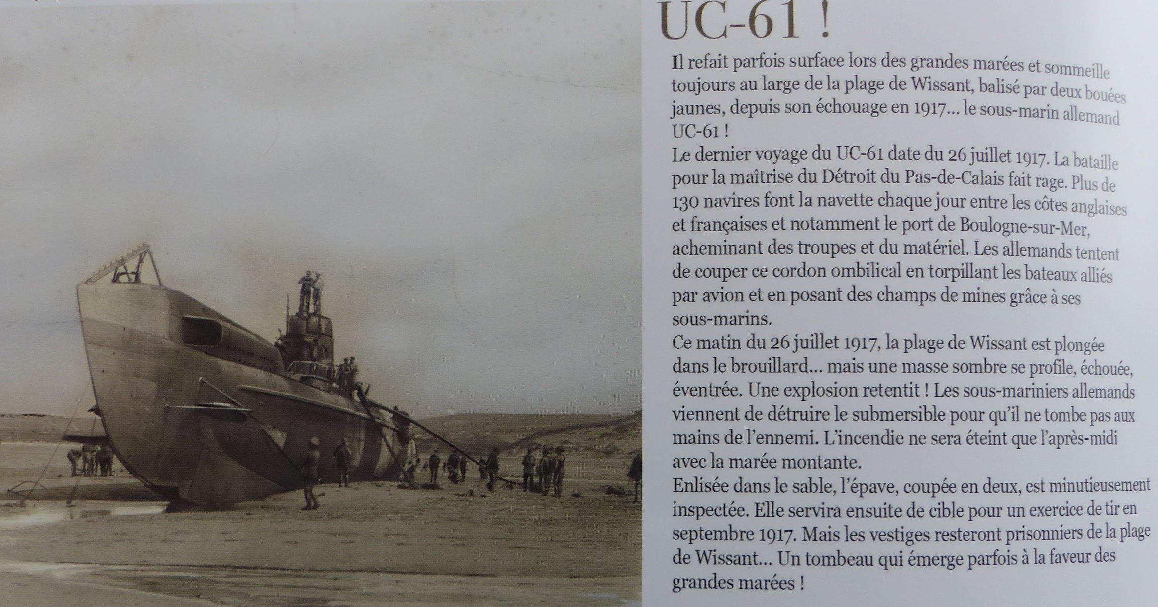 wpas sous marin 14 en 1917