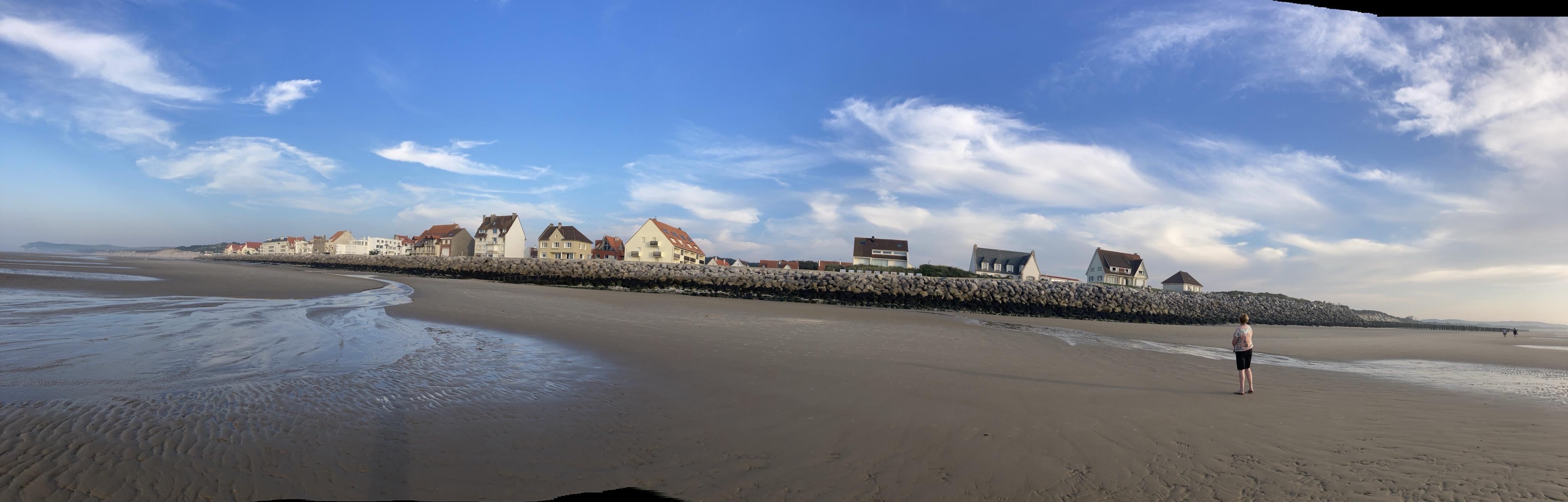 Wissant vu de la plage