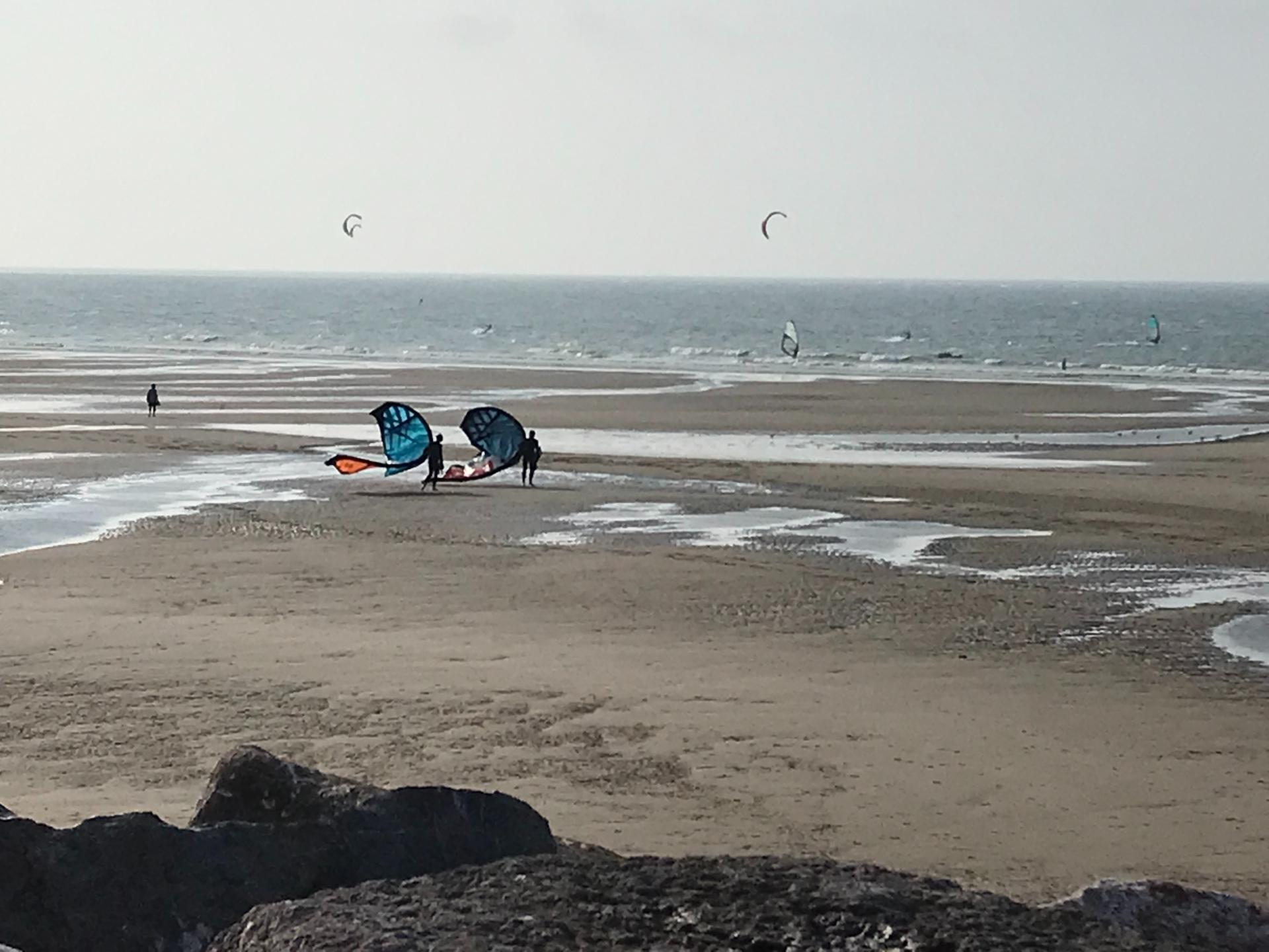 Kitesurf à Wissant