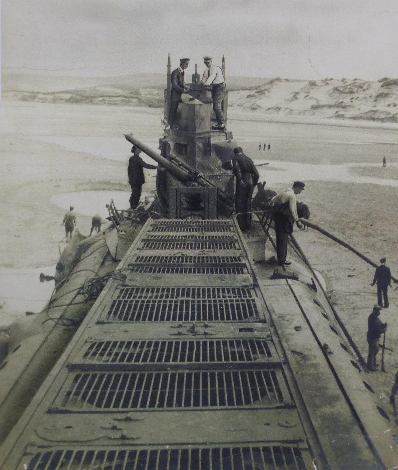 wpas sous marin 16 en 1917