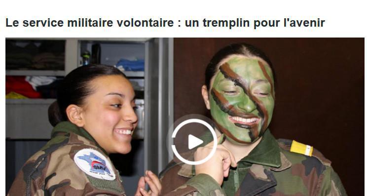 Le Service Militaire Volontaire : un tremplin pour l'avenir