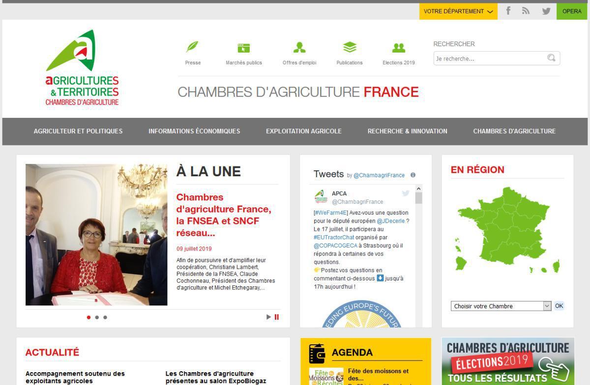 Chambre régionale d'agriculture Auvergne Rhône-Alpes