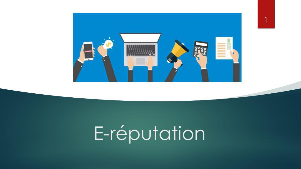 Formation E-réputation