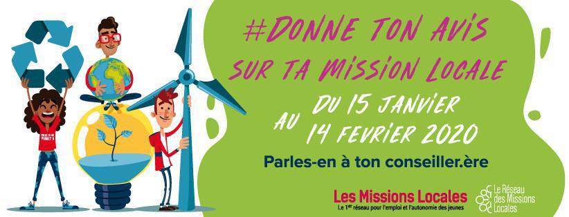 #Donne Ton Avis sur Ta Mission Locale