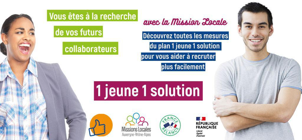 1 Jeune 1 Solution - Mission Locale