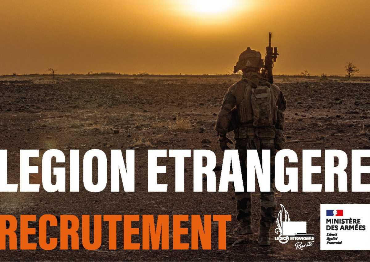 La Légion recrute