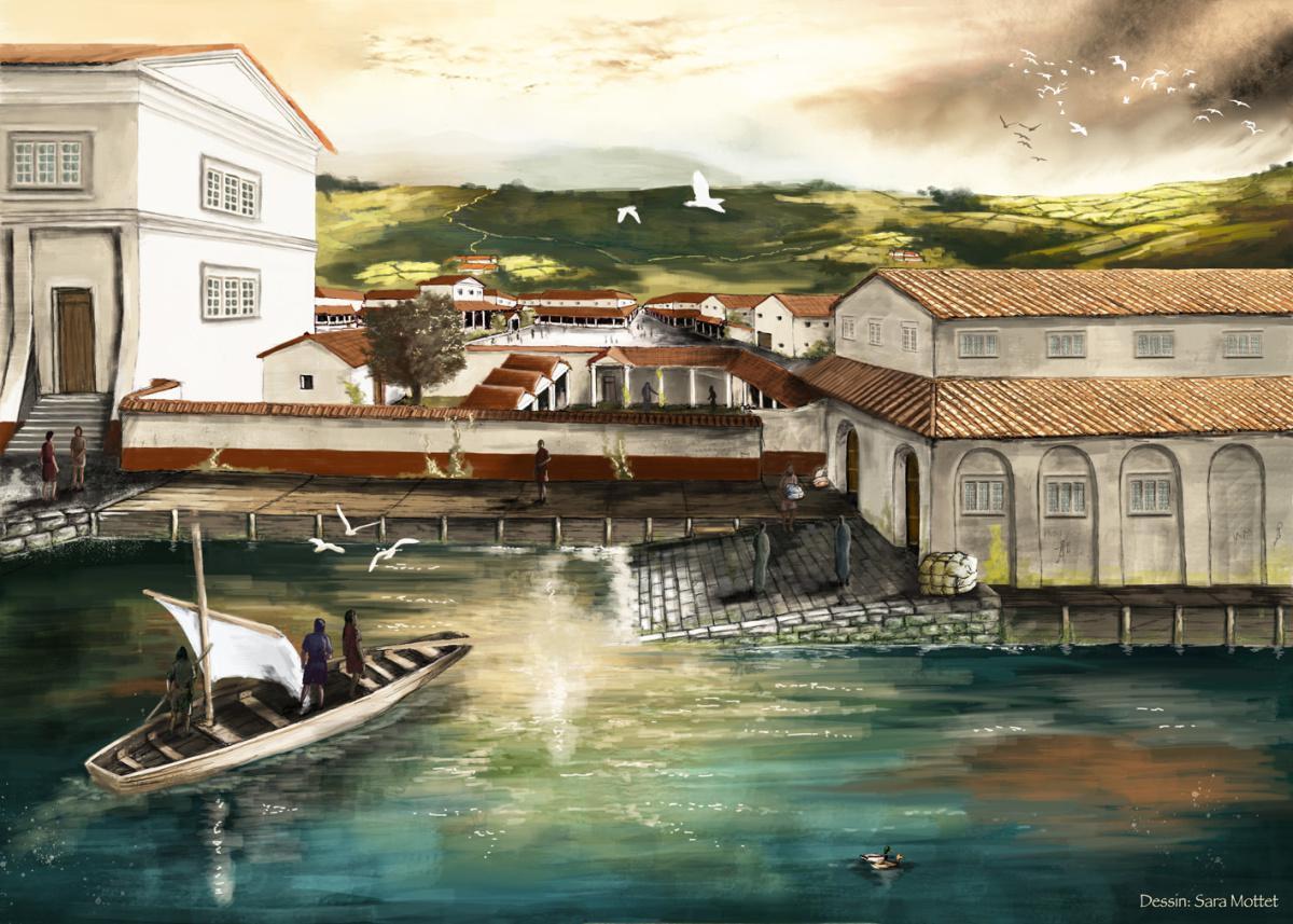 La rive antique