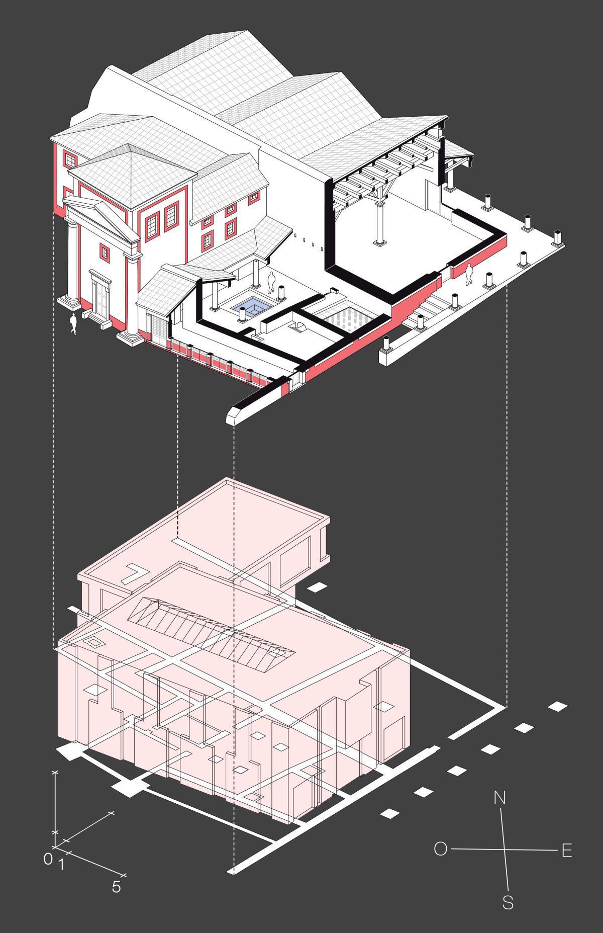 La domus du musée
