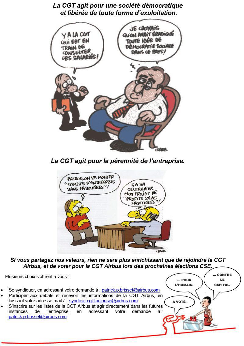 NOTRE SYNDICAT CGT Toulouse