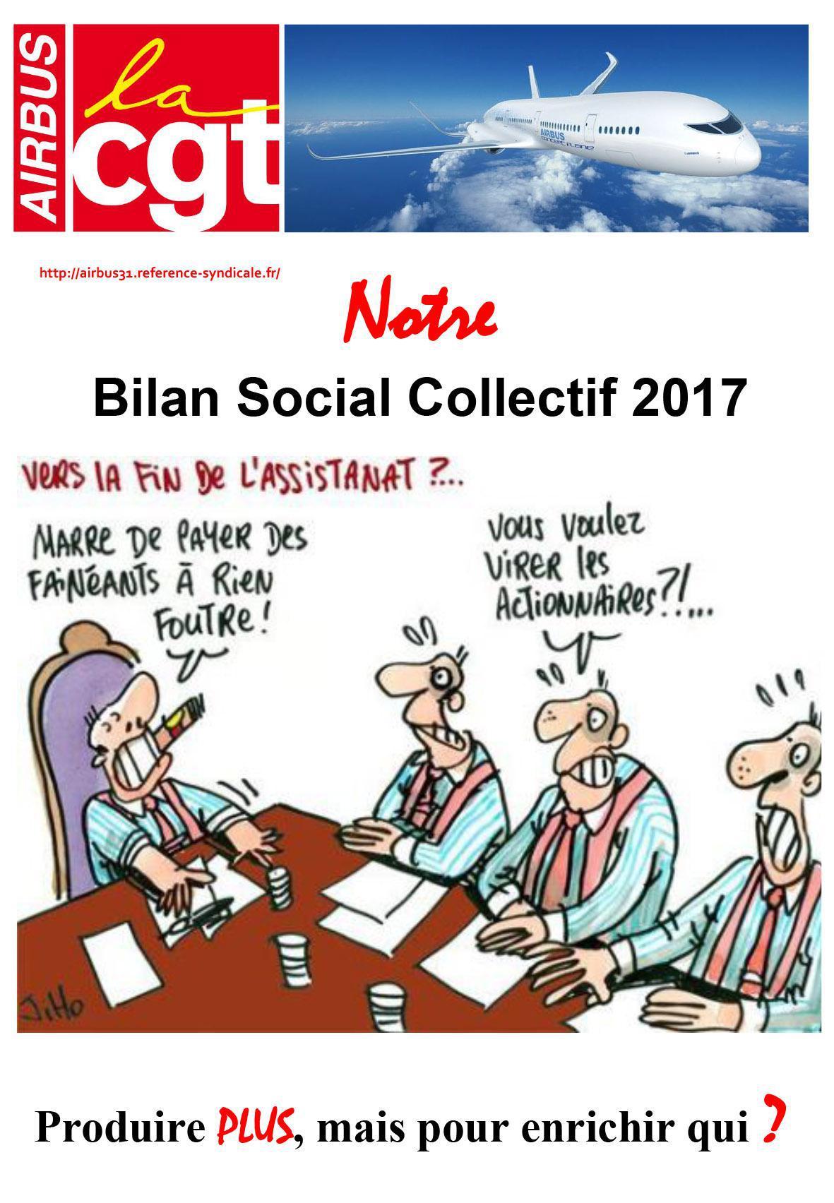 Notre Bilan Social Collectif 2017