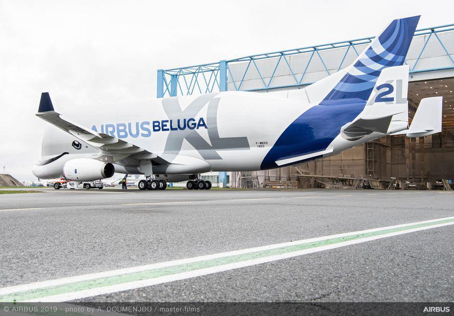 Airbus va produire un sixième exemplaire du BelugaXL, son avion-cargo géant