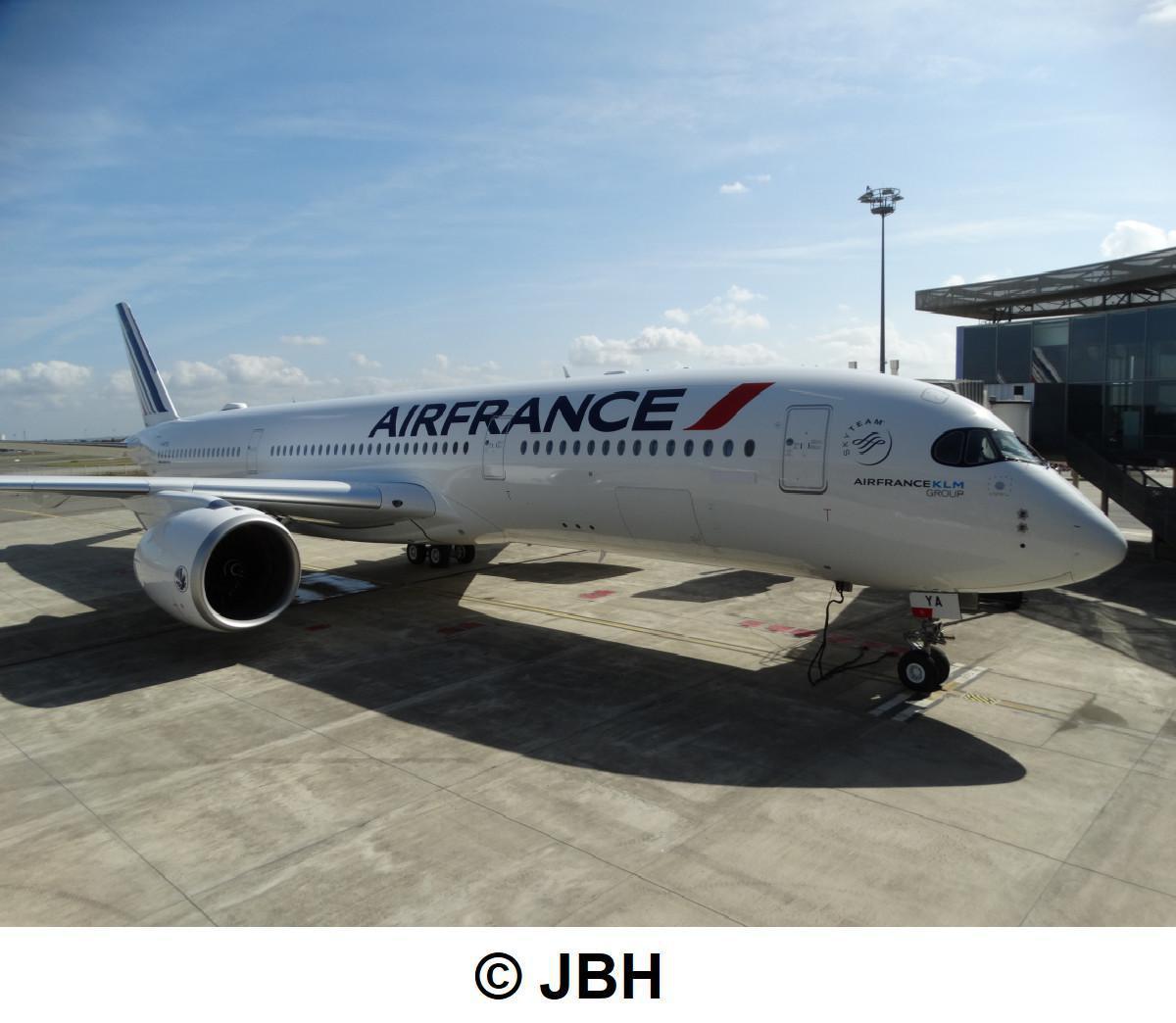 Air France reçoit son premier Airbus A350-900