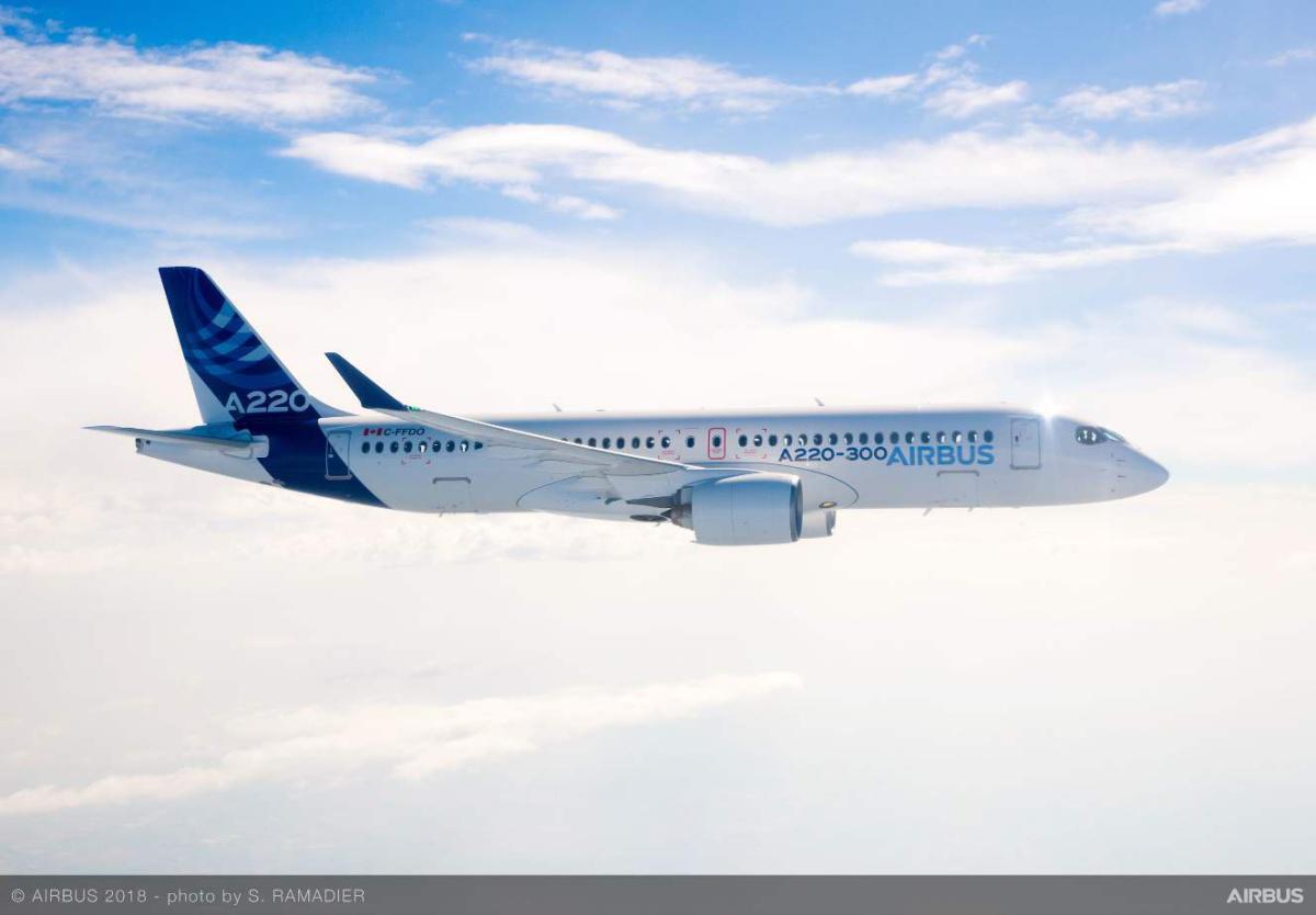 Air Austral prend à son tour de l'Airbus A220