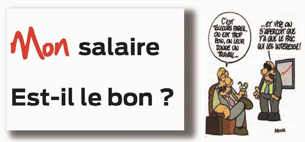 Mon Salaire est-il le Bon?
