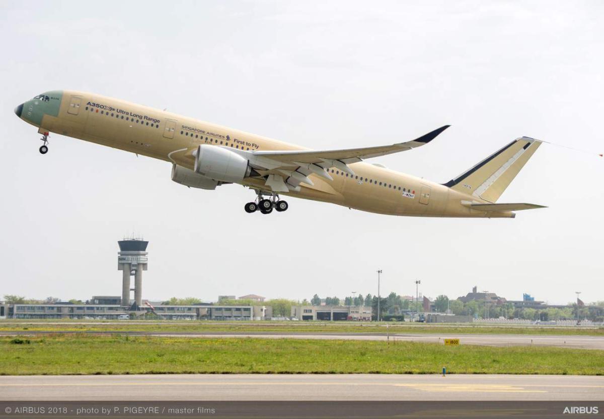 L'Airbus A350 sera aussi livré à partir de Chine