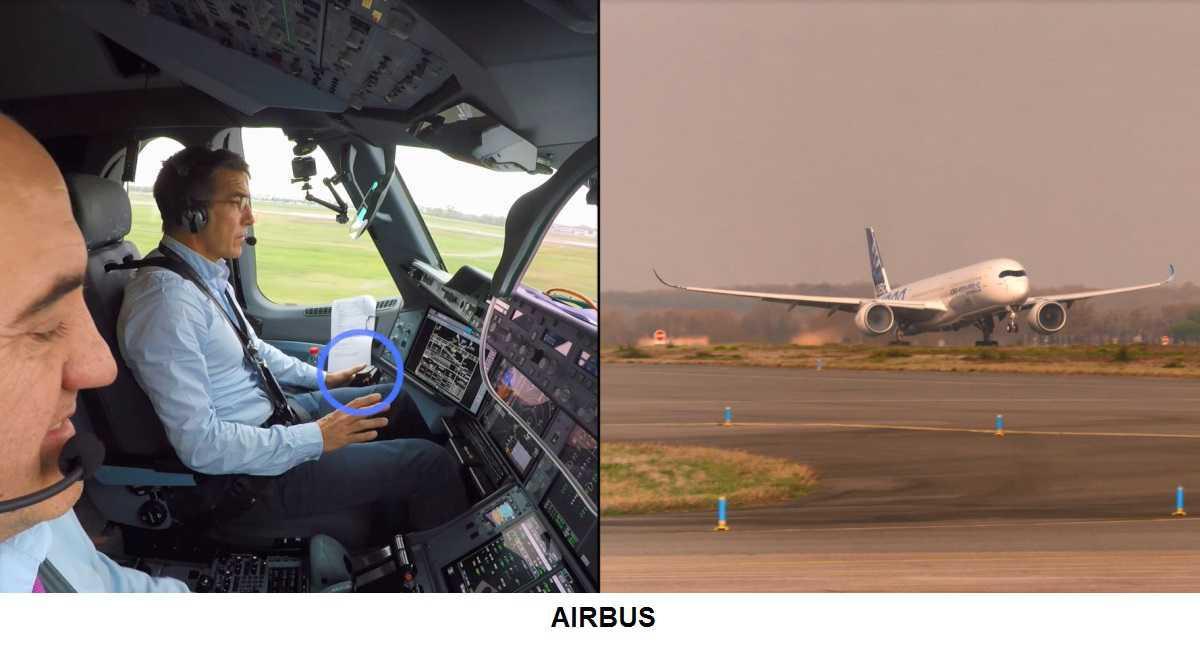 Airbus a testé avec succès son premier système de décollage automatique