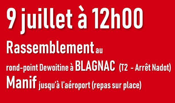 Tous les salariés de l'Aéro et de l'Occitanie dans l'action !