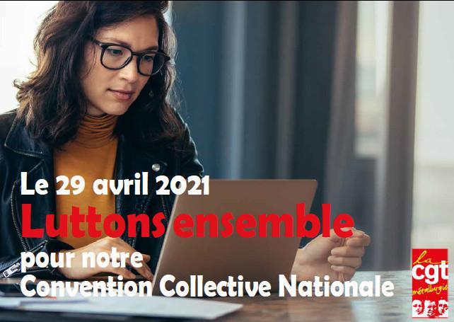 Mobilisation convention collective : pétition et information