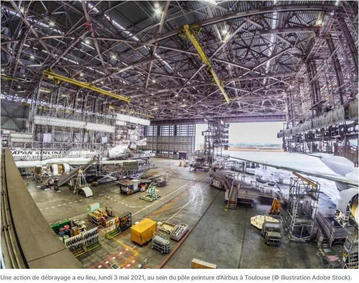 Toulouse. Le climat social se durcit chez Airbus, des salariés se mettent en grève