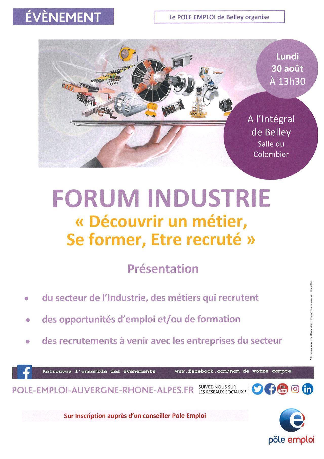 FORUM Industrie Belley