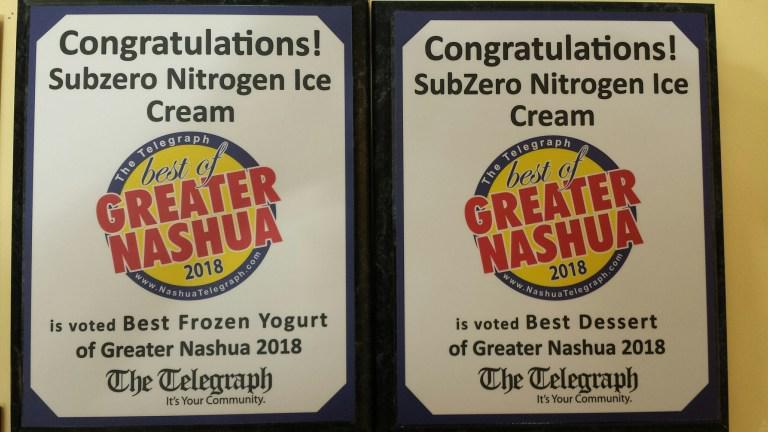 Nashua, NH - Sub Zero Nitrogen Ice Cream