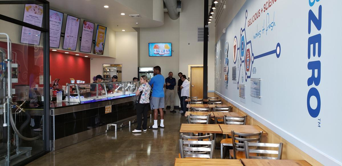 New Caney TX - Sub Zero Nitrogen Ice cream