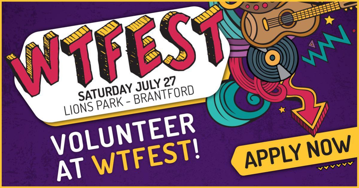 Volunteer @ WTFEST!