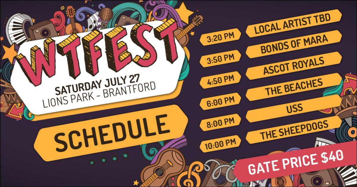 Saturday Schedule