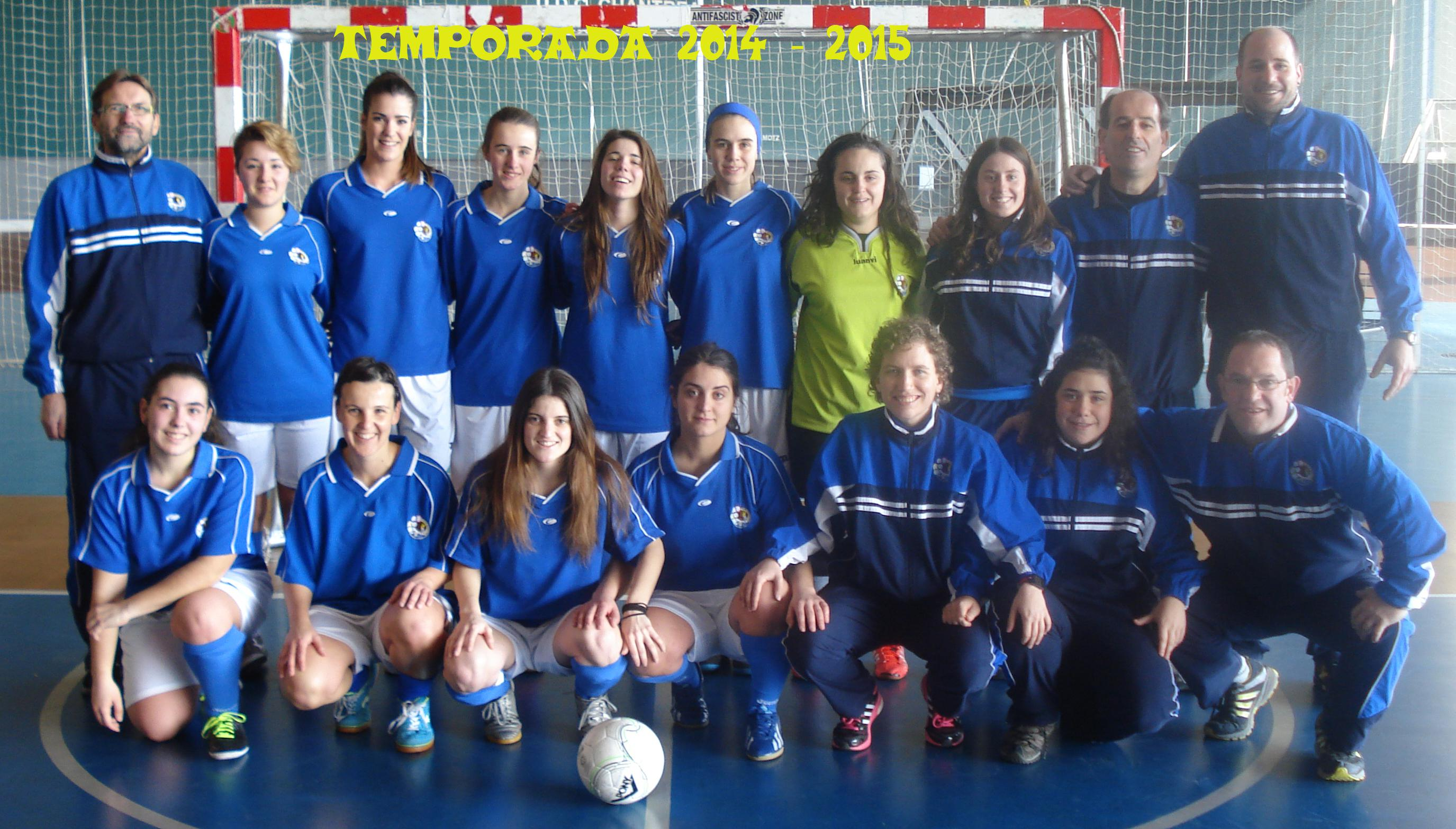 FILIAL - TEMPORADA 2014 - 2015