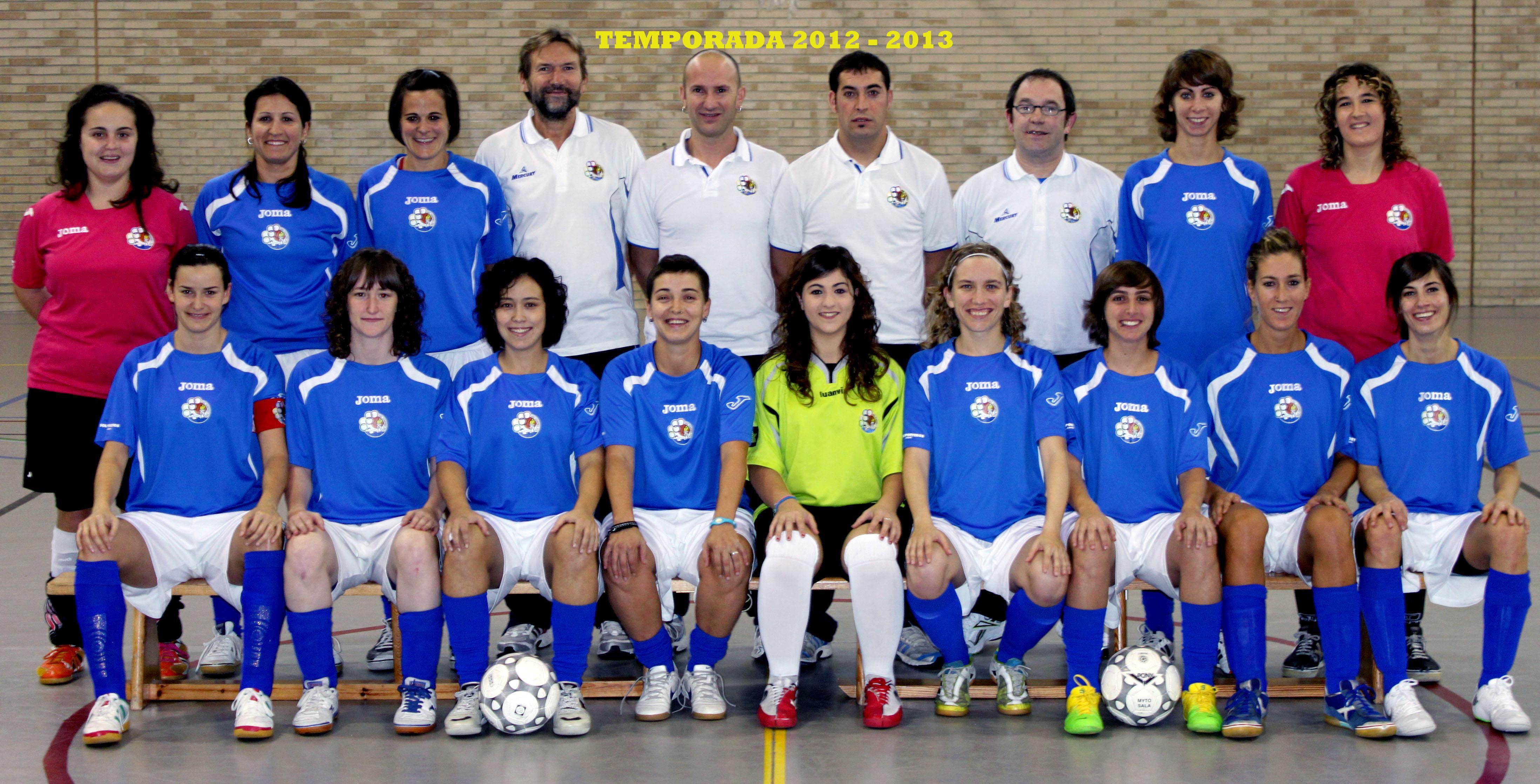 TEMPORADA 2012 - 2013