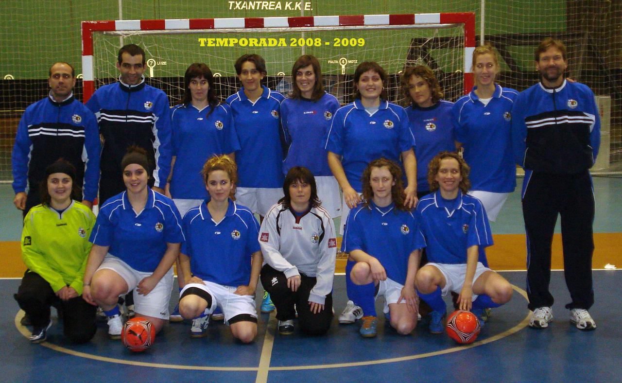 TEMPORADA 2008 - 2009