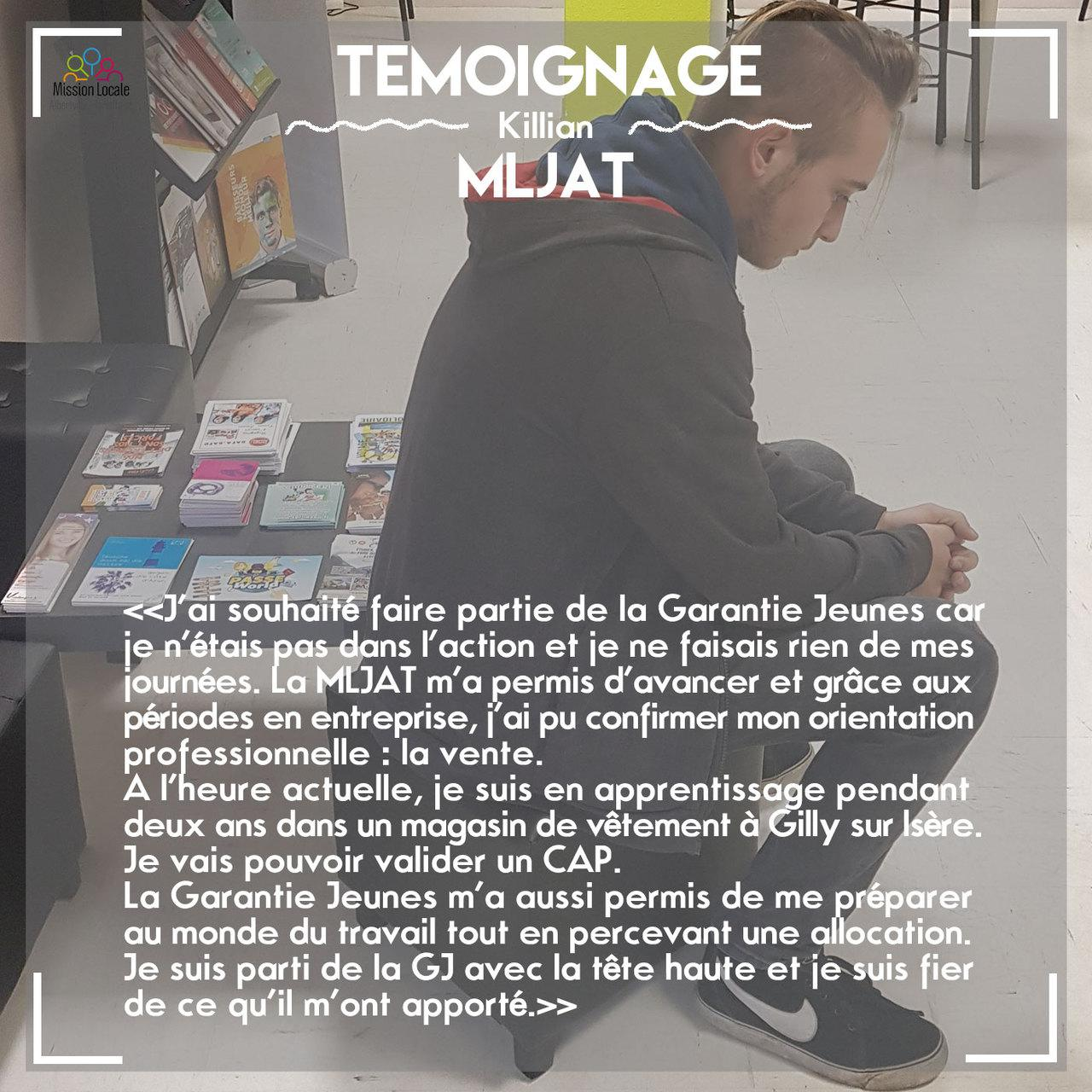 Témoignage Killian