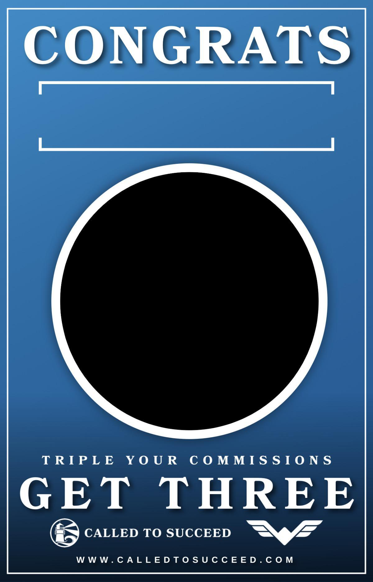 Triple Your Commissions