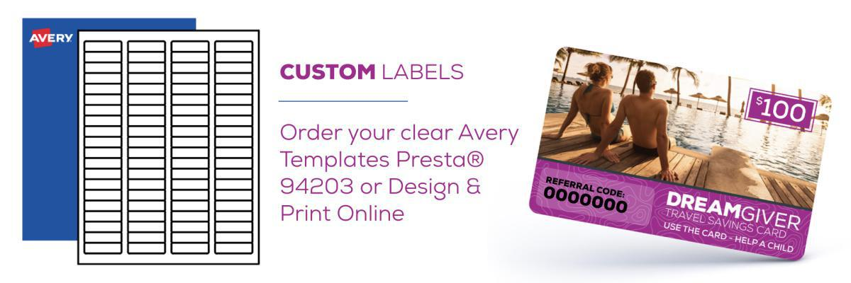 Labels from Avery.com