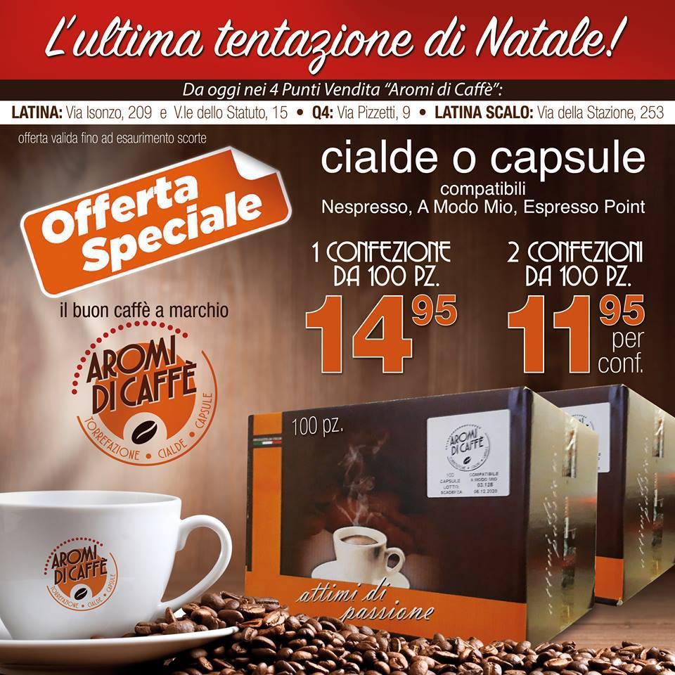 Cialde e Capsule a partire da 11.95€ a conf.