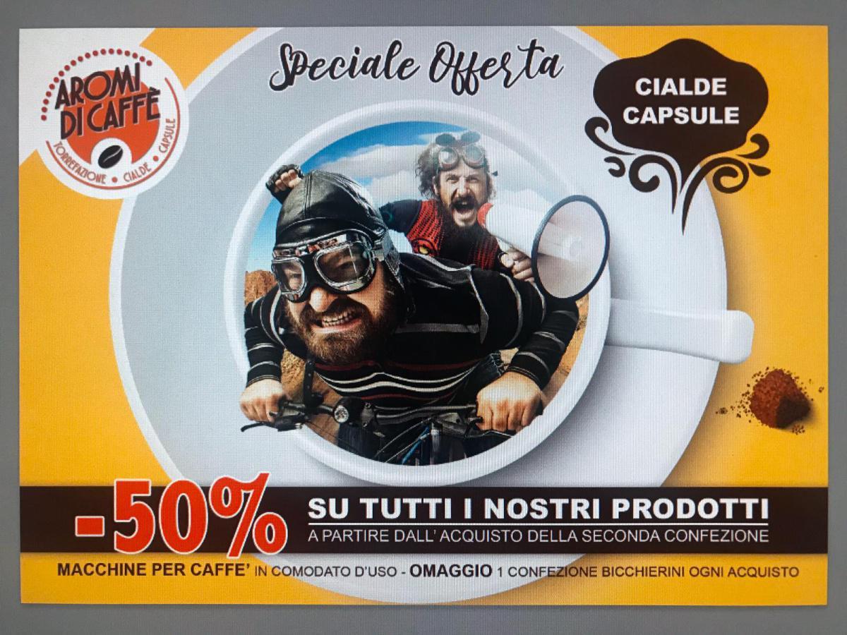 -50% su TUTTI i nostri prodotti!