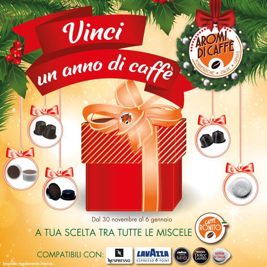 Ti regaliamo UN ANNO DI CAFFÈ!