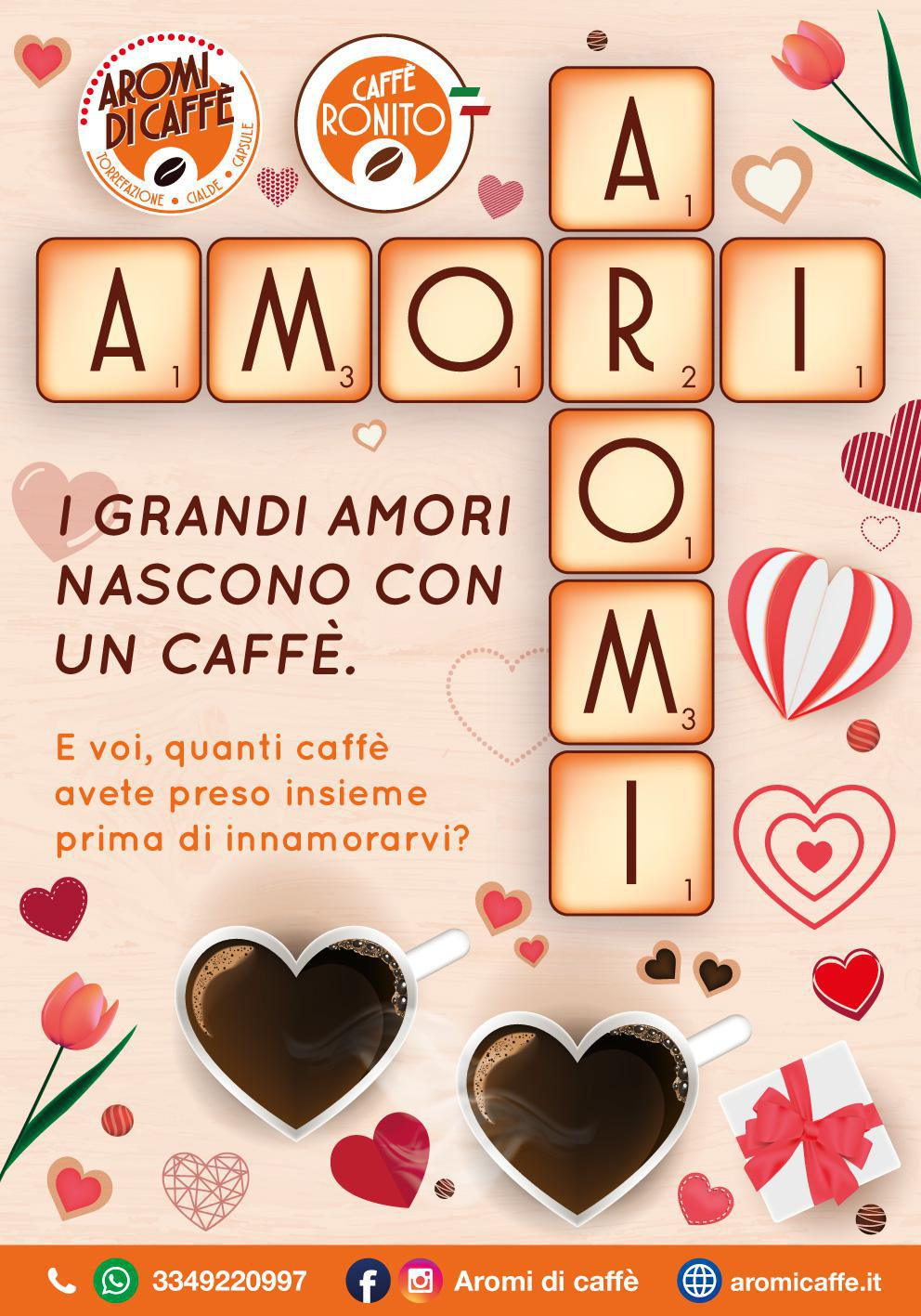 I grandi amori nascono con un caffè