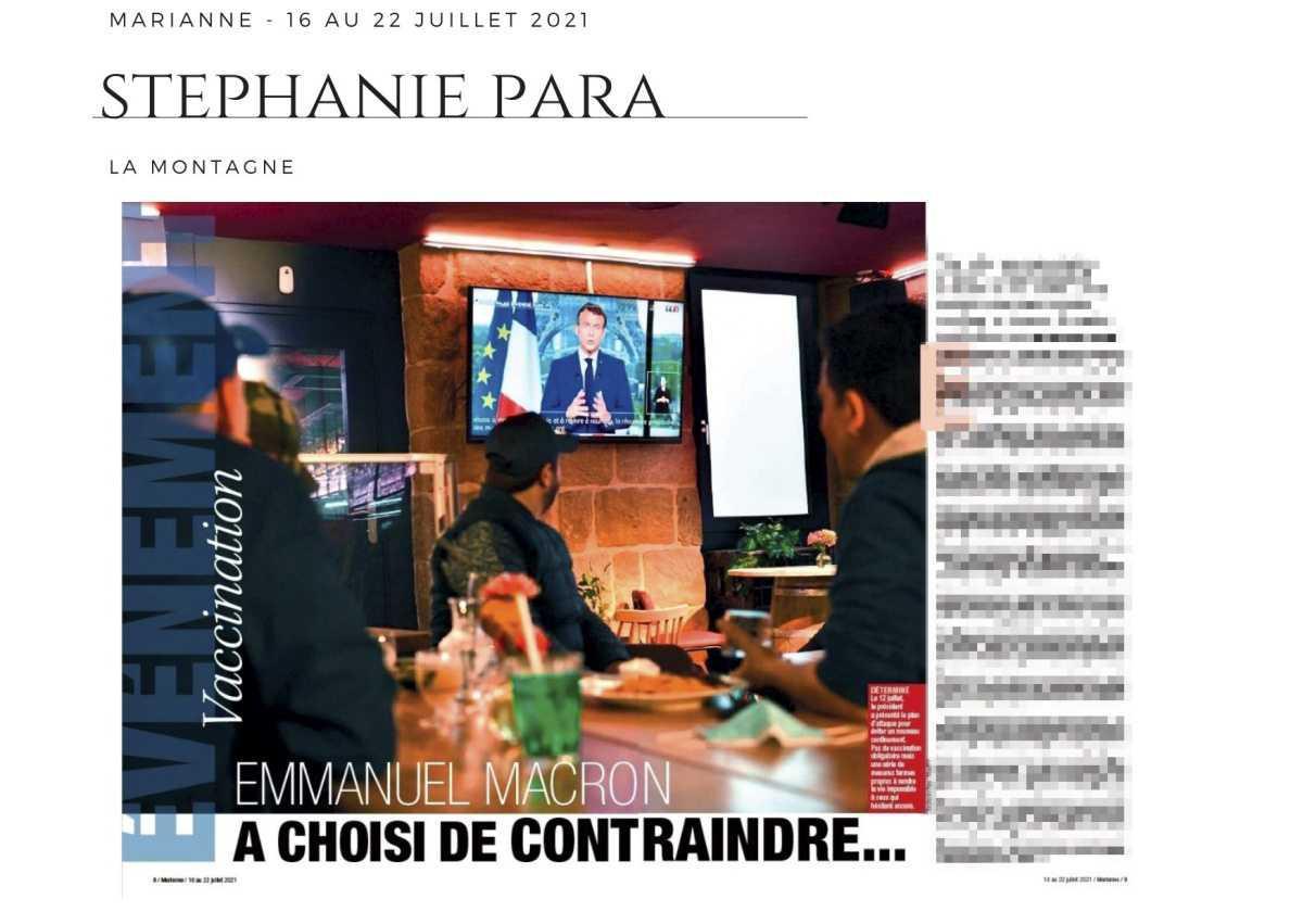 [Revue de presse] - Chez Marianne